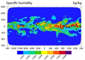 The new highly scalable Spectral Element Atmospheric Model developed by Sandia for the Community Climate Simulation model Dycore.