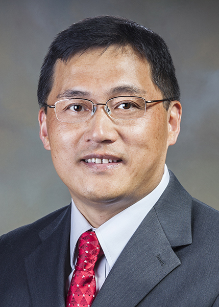 Sandia researcher Hongyou Fan to give the 2015 Fred Kavli Distinguished Lecture in Nanoscience. (Photo by Stephanie Blackwell)