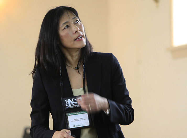 Jacqueline Chen elected fellow of the American Physical Society