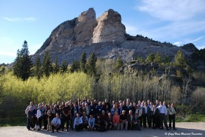 Group photo at Crazy Horse