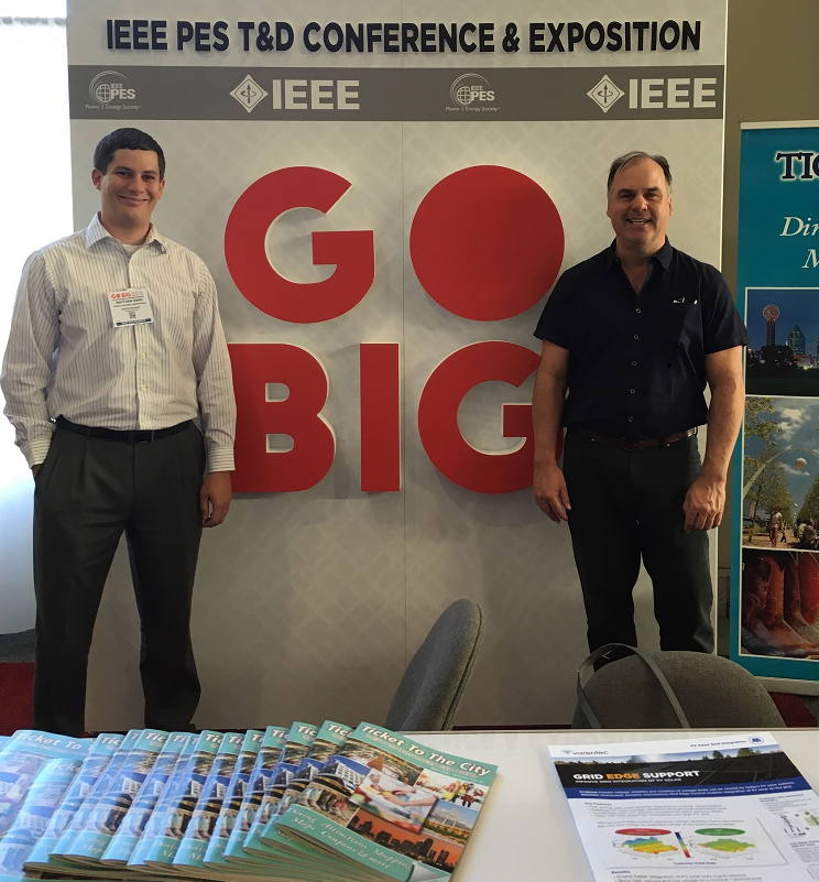 Matt Reno and Robert Broderick attend IEEE 2016