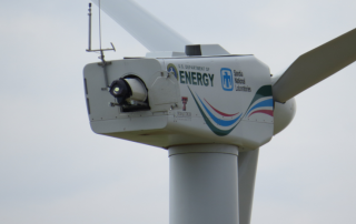 The DTU SpinnerLidar installed in the nacelle of the SWiFT facility A1 turbine