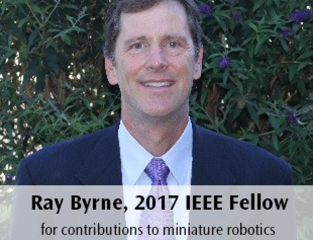 Ray Byrne Named 2017 IEEE Fellow