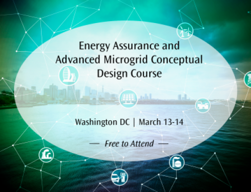 Register Today for the Energy Assurance and Advanced Microgrid Conceptual Design Course on March 13-14