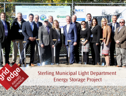 Sterling Municipal Light Department Energy Storage Project wins Grid Edge Award
