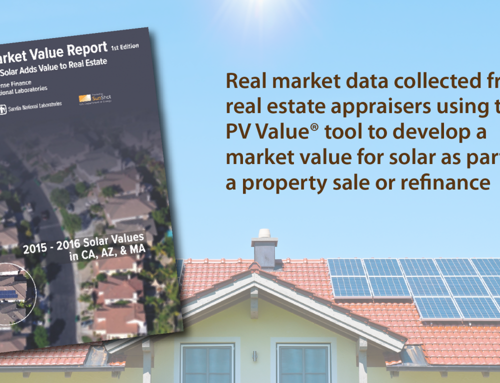 First-of-a-Kind Study Presents Real Market Data to Develop a Market Value for Homes with Solar