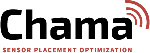 the logo for chama, sensor network optimization software