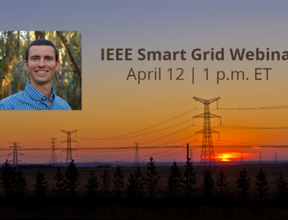 Upcoming Webinar: Distributed Control for Improving Power System Stability