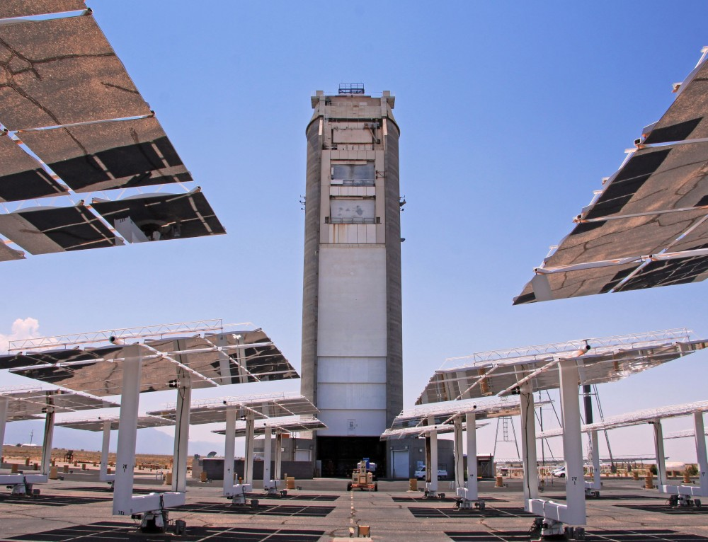 Advanced CSP Collector Testing to take place at National Solar Thermal Test Facility