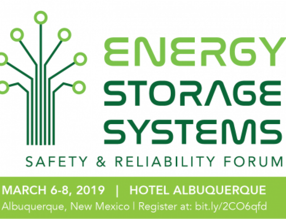 Register today: forum highlights the future of safe, resilient energy storage systems