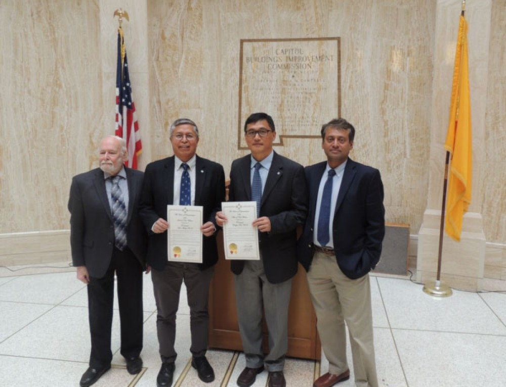 NM Legislature honors Sandia serial innovators