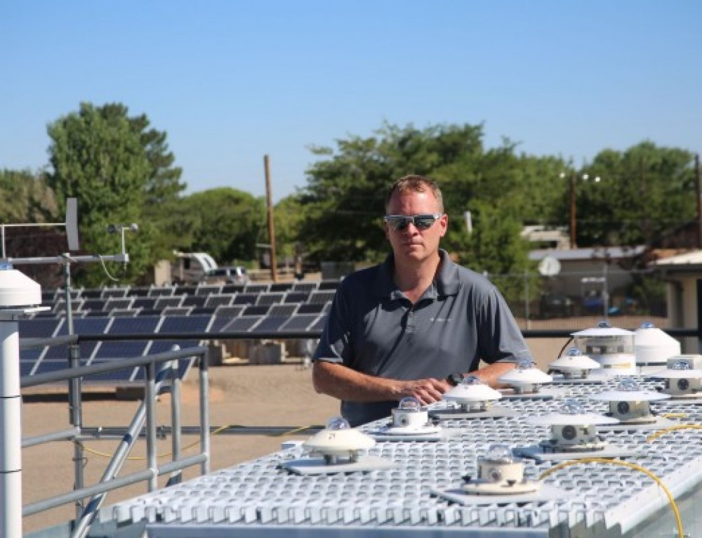 PSEL wraps up testing on non-reflective solar panels for arrays in glare-sensitive locations
