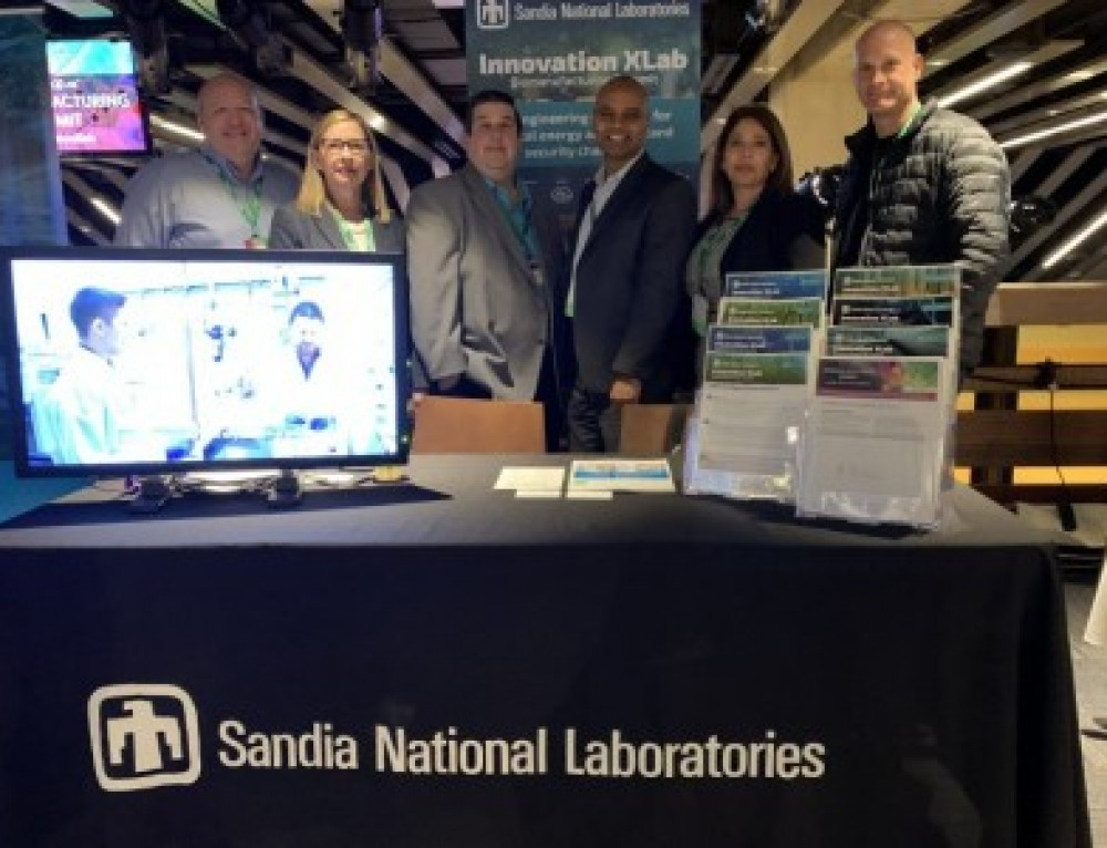 Sandia showcases biomanufacturing research at DOE summit