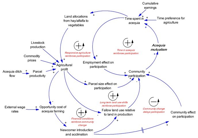 an image of a system dynamics model