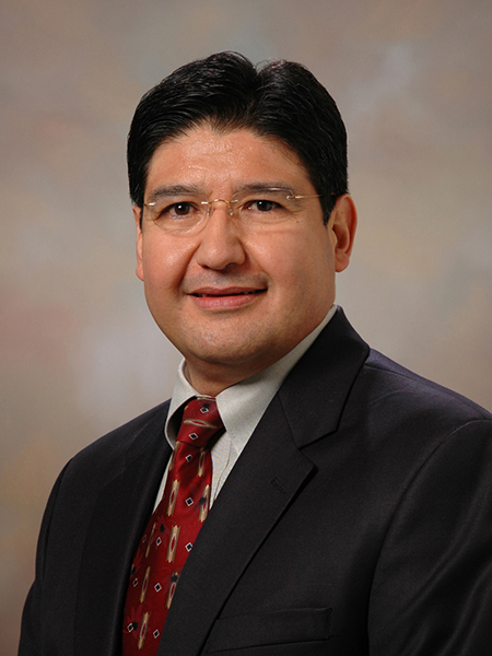 Gil Herrera, director of Sandia's Microsystems Science, Technology, and Components Center and a recently elected AAAS Fellow.