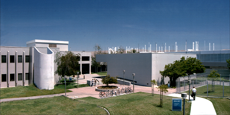 The Combustion Research Facility (CRF) at Sandia's Livermore, California, site.
